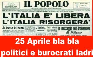 25 Aprile bla bla