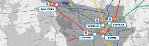 la mappa NON interattiva del TPL di EXPO