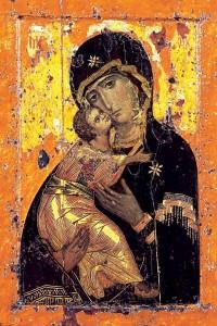 L'Icona della Madonna di Vladimir (Vladimirskaja)