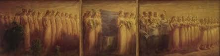 Gaetano Previati, Funerali di una Vergine