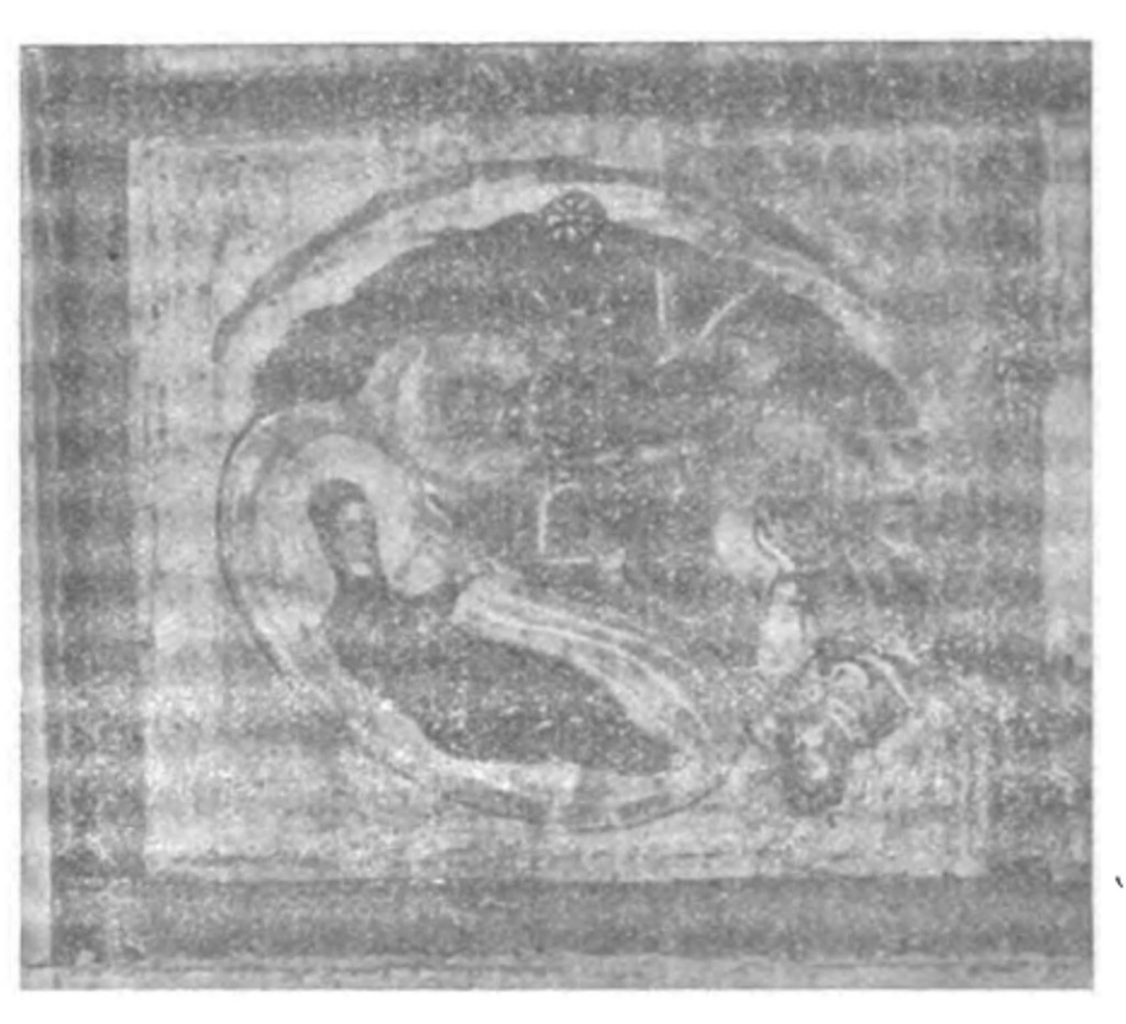 Fig. 2 - Il Presepio, da una miniatura del Sancta Santorum